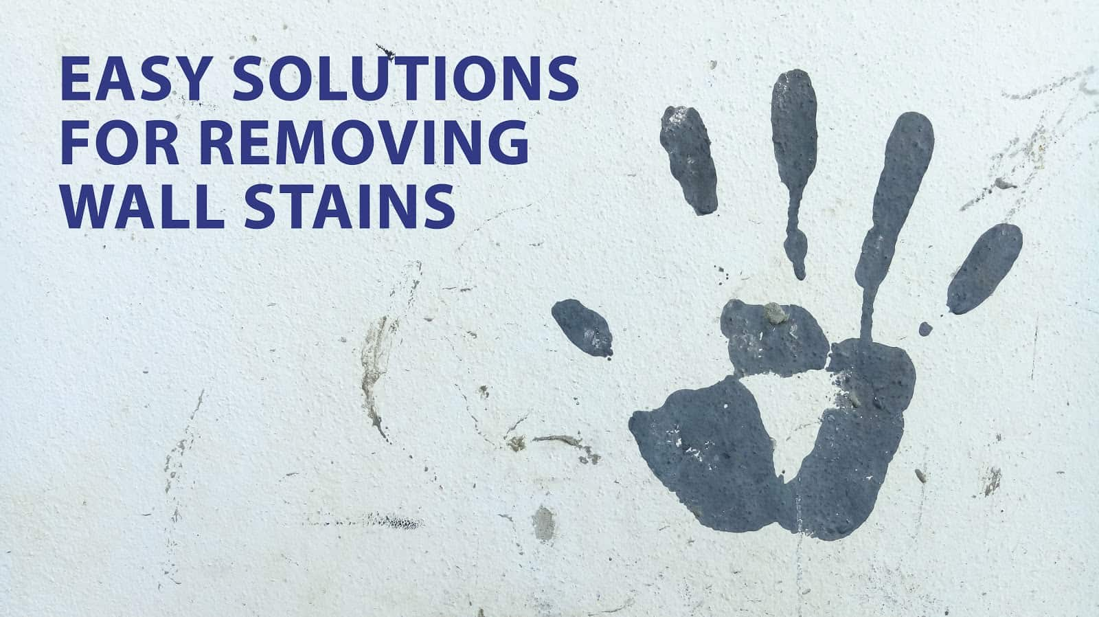 remove wall stains
