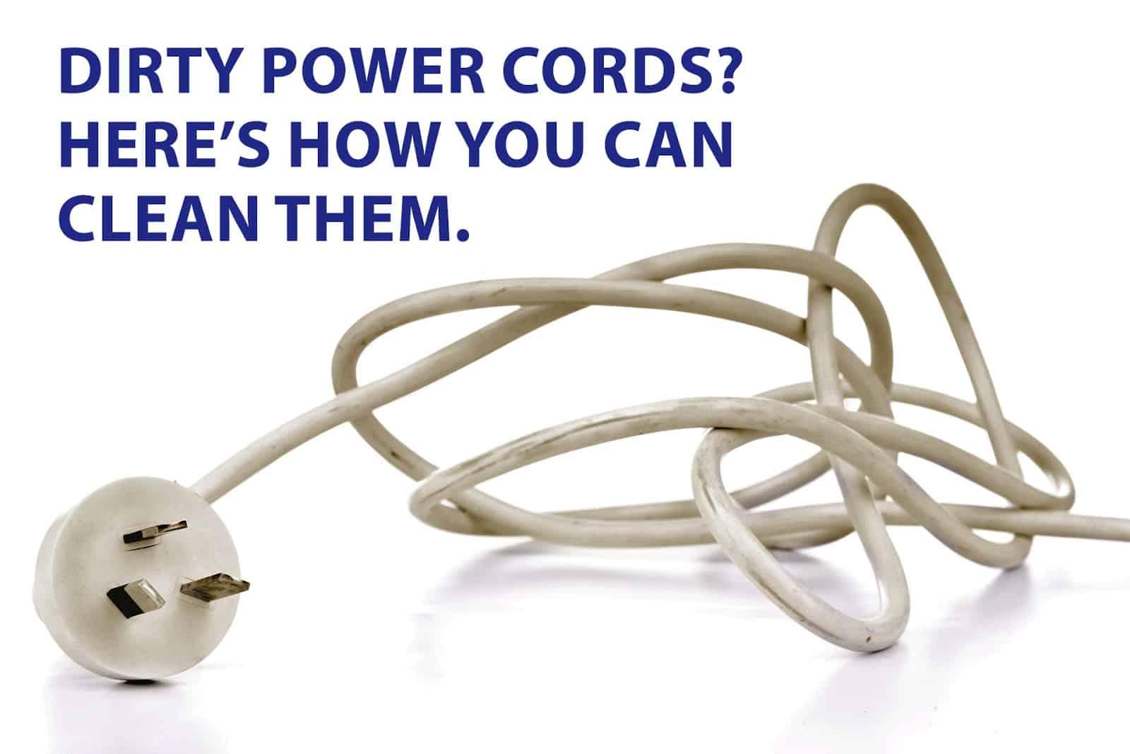clean cords