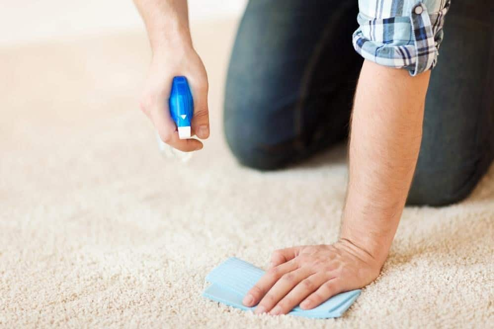 remove makeup stains from carpet