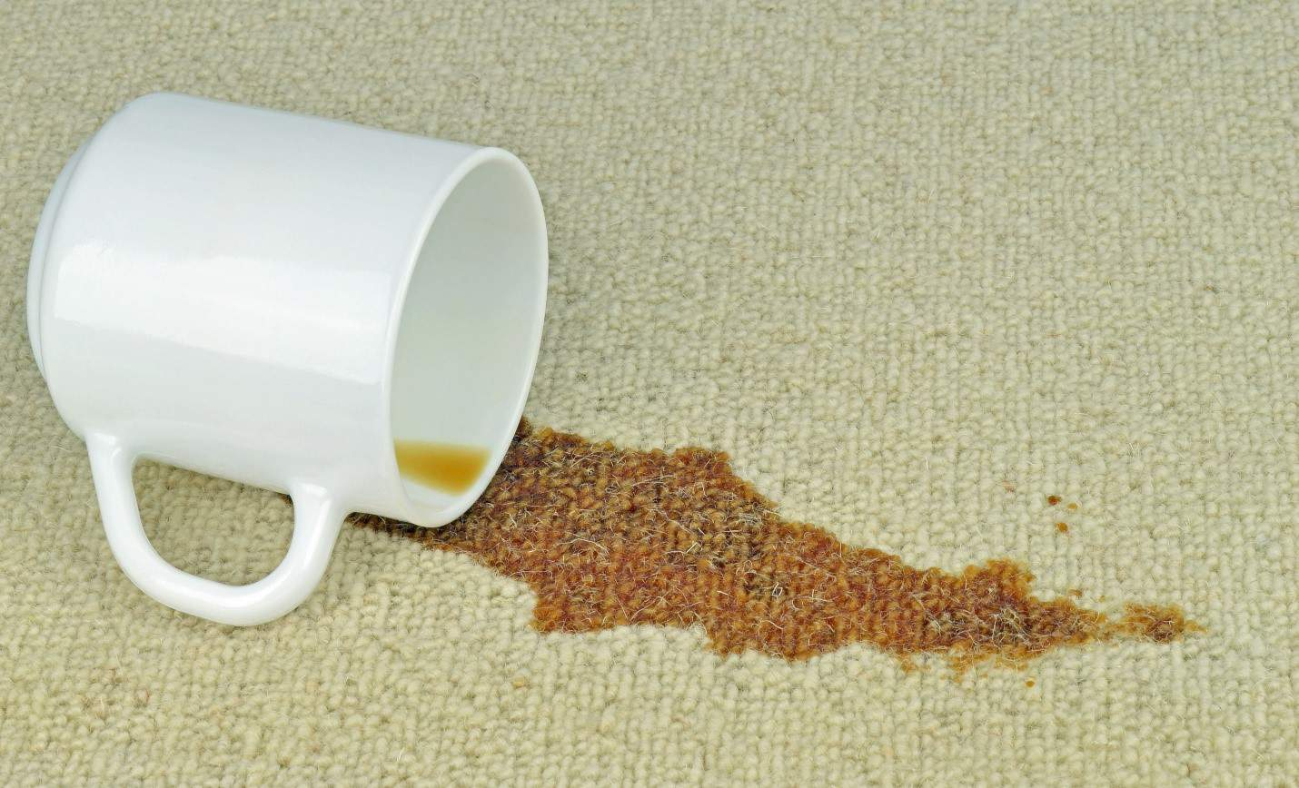 how to remove coffee stains1