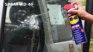 Tricks To Remove Insects From Your Car With WD-40!