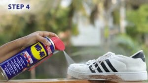Clean Your Sneakers Easily With WD-40!