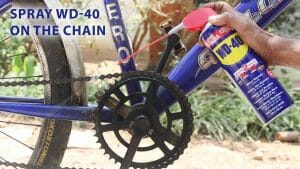 Easy Methods To Clean Your Bike With WD-40!