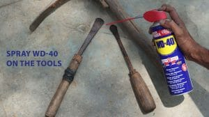 How To Clean Your Rusted Tools With WD-40?