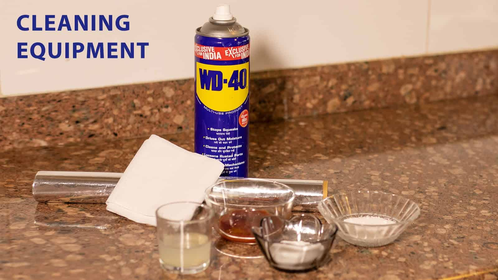 How To Clean Metals of all types with Ease?