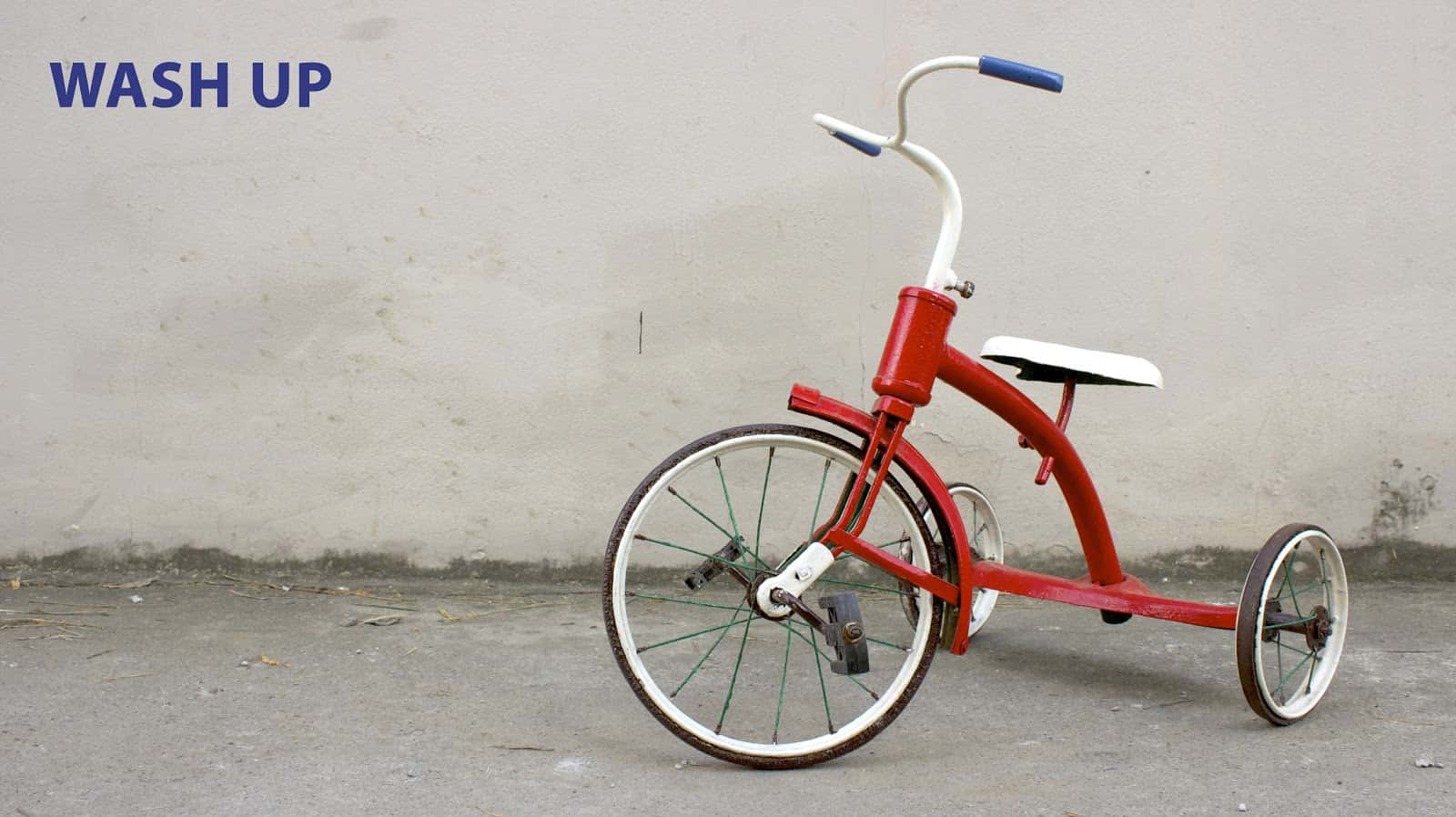 How to lubricate tricycles and other wheeled toys