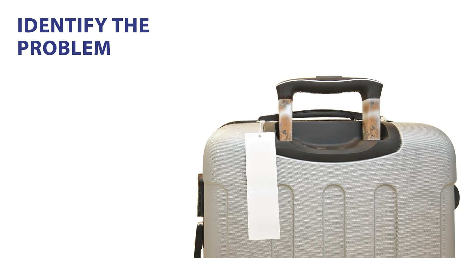 Jammed luggage handles? Here's how you fix them.