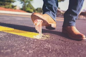 How to Remove Chewing Gum from Shoes
