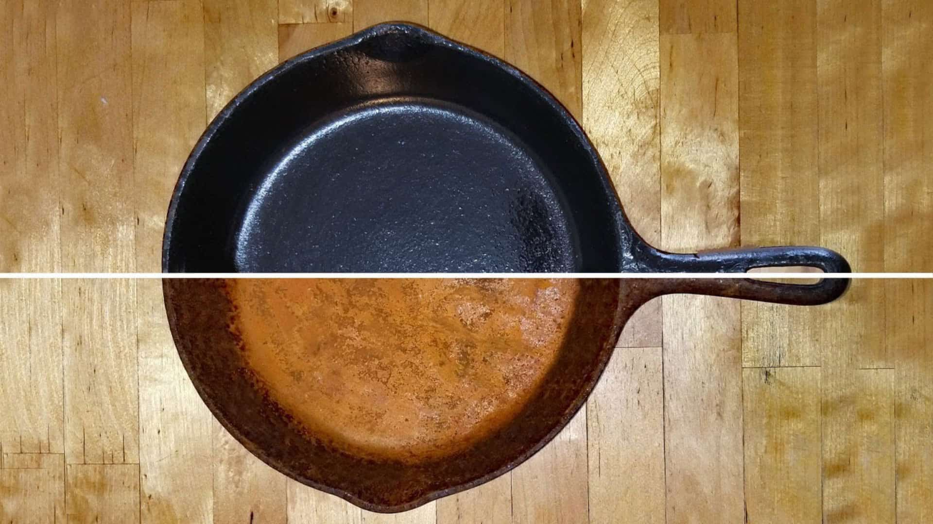 Rust Off a Cast-Iron Stovetop
